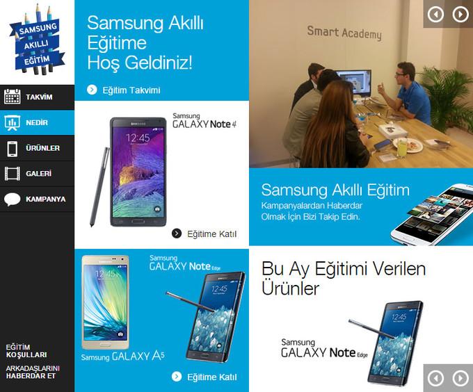 Samsung Akıllı Eğitim