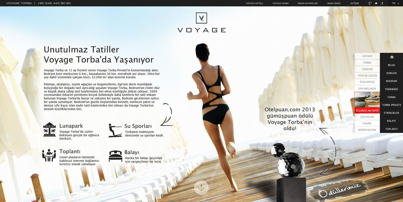Voyage Torba Tesis Sayfası
