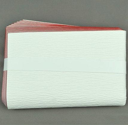 紅白檀紙紙釜敷