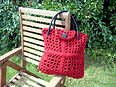 Magic Butterfly Loom Shopper