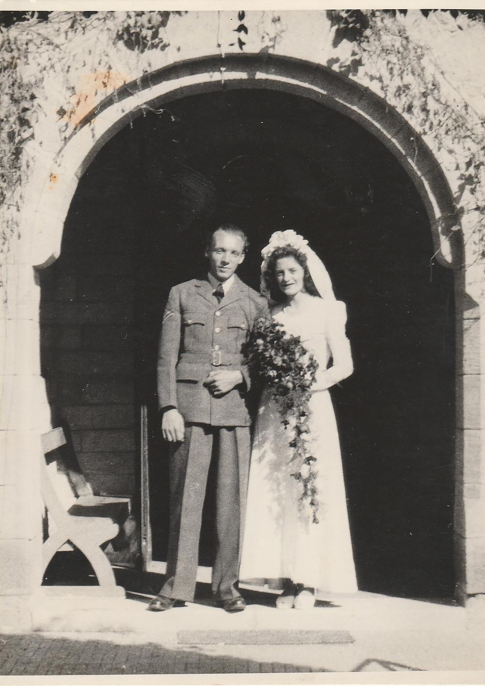 St Michaels & All Angels Heliopolis 22nd Dec 1945