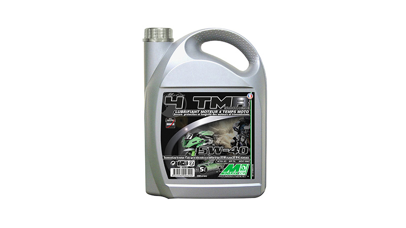 HUILE MOTEUR 4 TEMPS MINERVA MAXISCOOTER/MOTO 4T SYNTHESE 5W40 5L