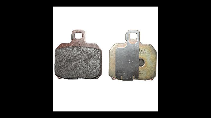 PLAQUETTE FREIN ORIGINE PIAGGIO 125-250 X9-EVO AV+AR 400-500 BEVERLY 500 NEXUS