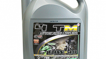 HUILE MOTEUR 4 TEMPS MINERVA MAXISCOOTER/MOTO 4TM SYNTHESE 10W40 (5L)