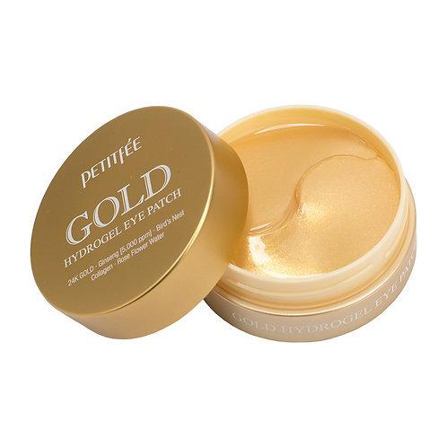 PETITFEE - Gold Hydrogel Eye Patch - Hydrożelowe Płatki pod Oczy - 60szt