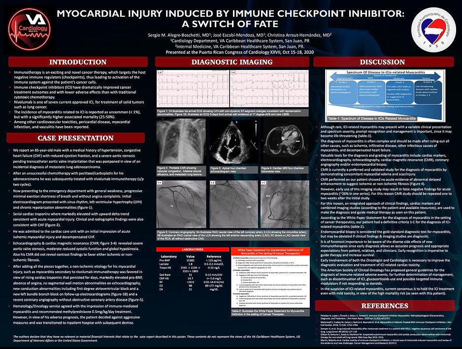 Myocardial Injury Induced by Immune Chec
