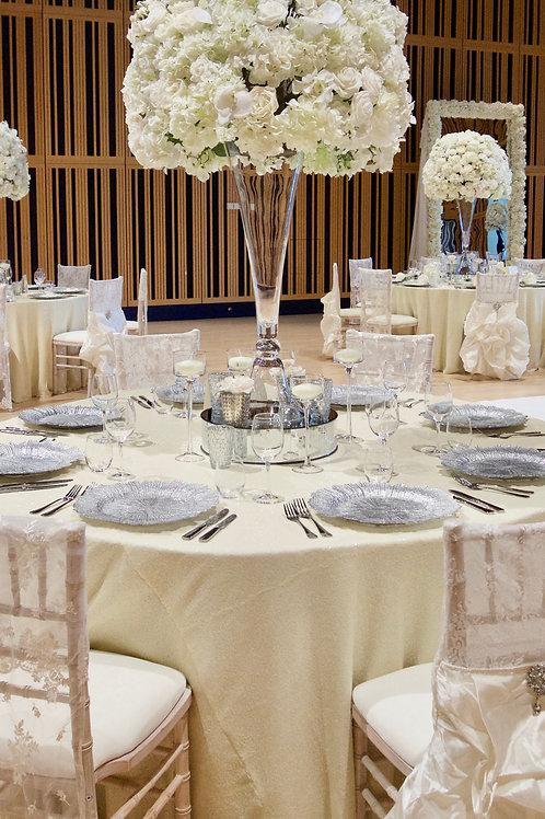 Floor Length Sequin Table Cloths