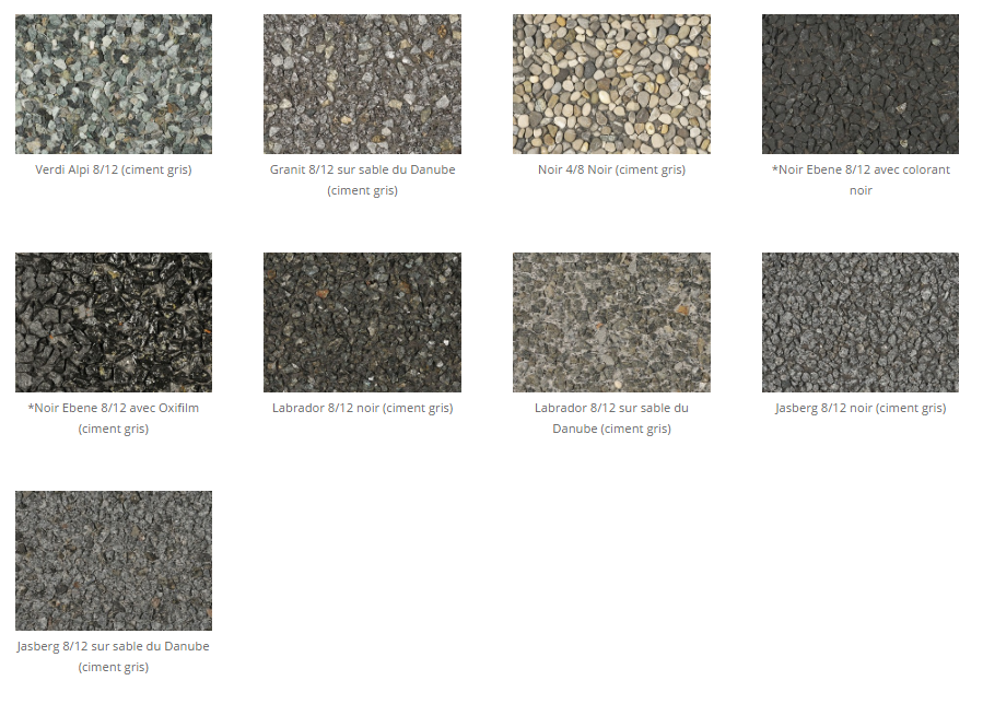 Silex sable gris 2