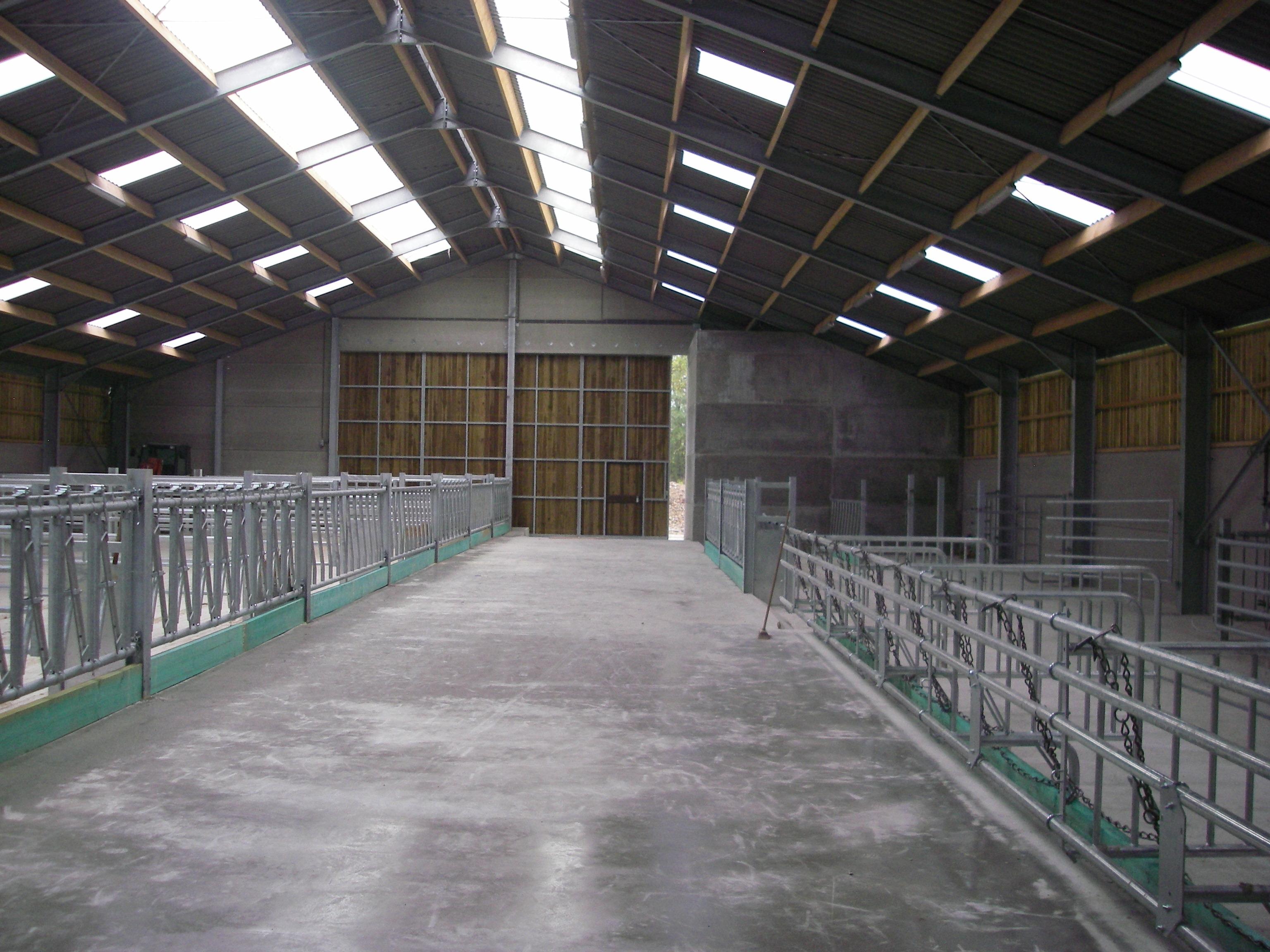 Portes agricoles en bois