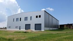Hall industriel logistique