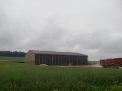 Portes agricoles en tôles