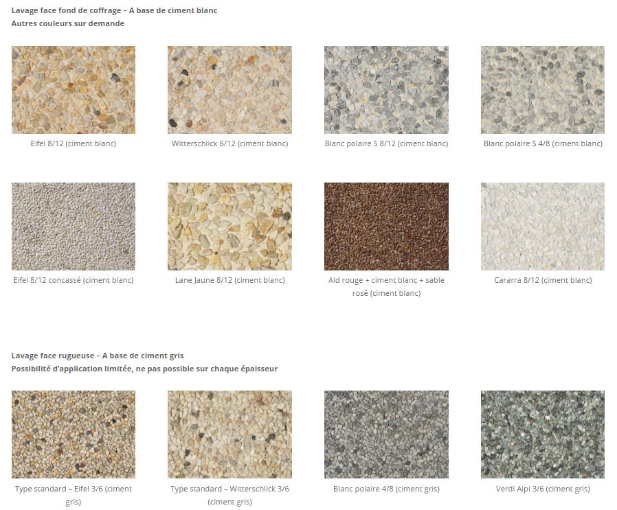 Silex sable ciment blanc