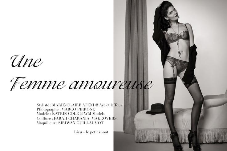 Ô magazine - Une femme amoureuse