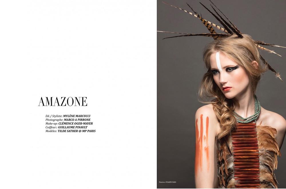 Ô mag - Amazone par Marco Adriano Pirrone