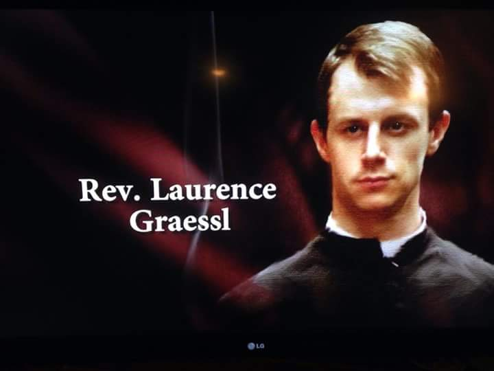 Portraying Rev. Laurence Graessl