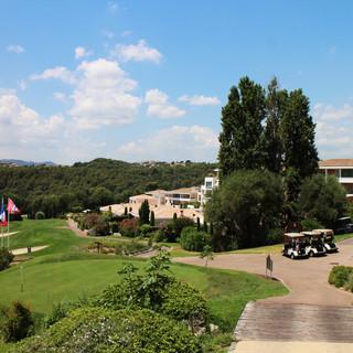 Exposition au Royal Mougins Golf Resort