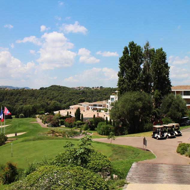 Exhibition at Royal Mougins Golf Resort