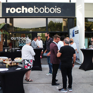 Exhibition at Roche Bobois Antibes