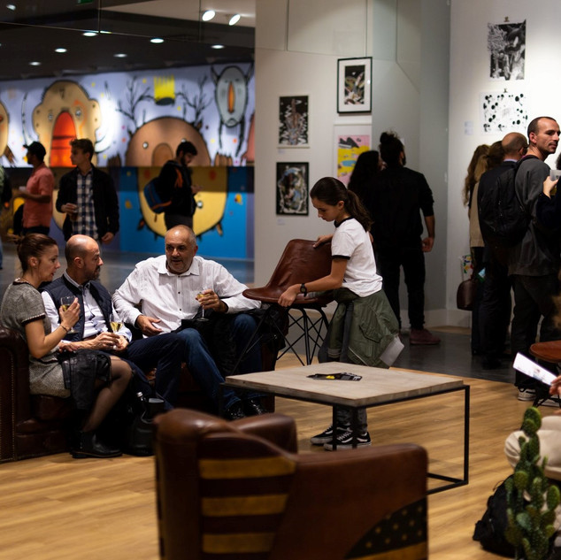 Exhibition at Confluence Lyon