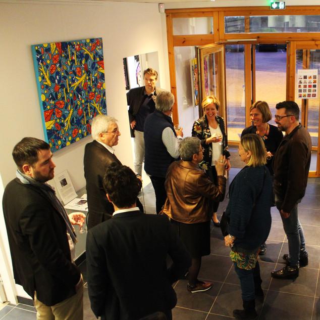 Exposition à l'Espace Entreprises Caldeo Valence