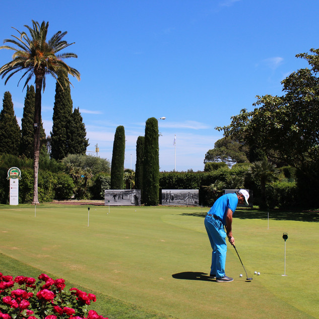 Exhibition at Golf of Valescure St Raphaël
