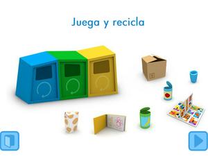 A reciclar con Pocoyo