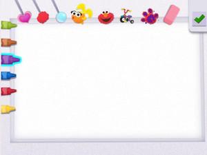 Pintando con Elmo