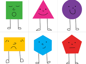 Memorice de figuras geométricas