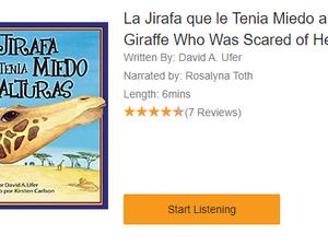 La jirafa tenía miedo