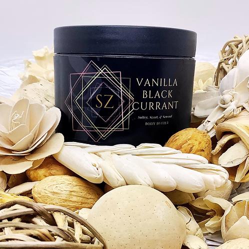 Luxe Vanilla Black Currant Body Butter