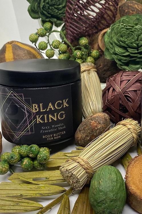 Luxe Black King Body Butter 4 Men