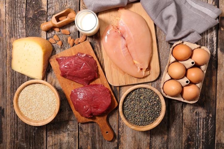 comidas ricas em proteina