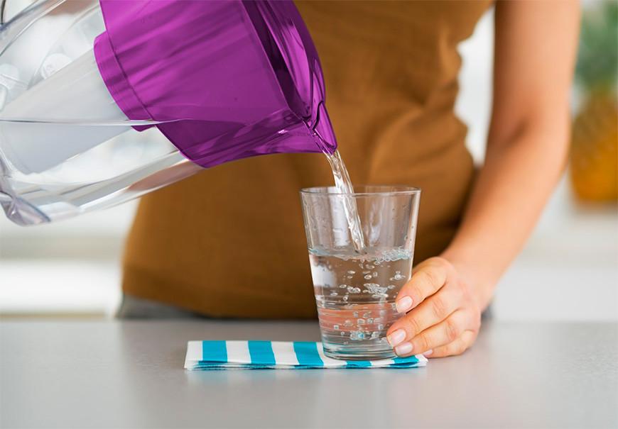 agua para diminuir retenção de liquido