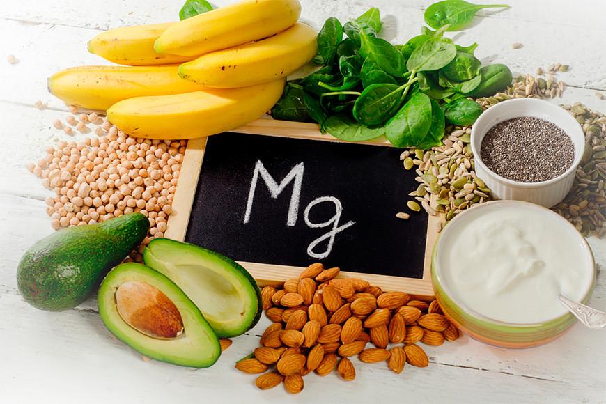 ingestão de magnésio e vitamina b6