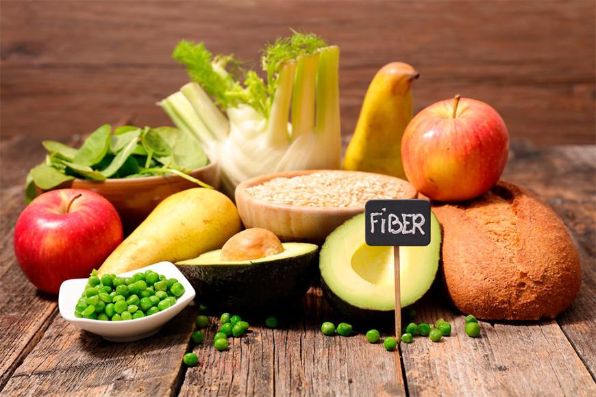 alimento rico em fibra