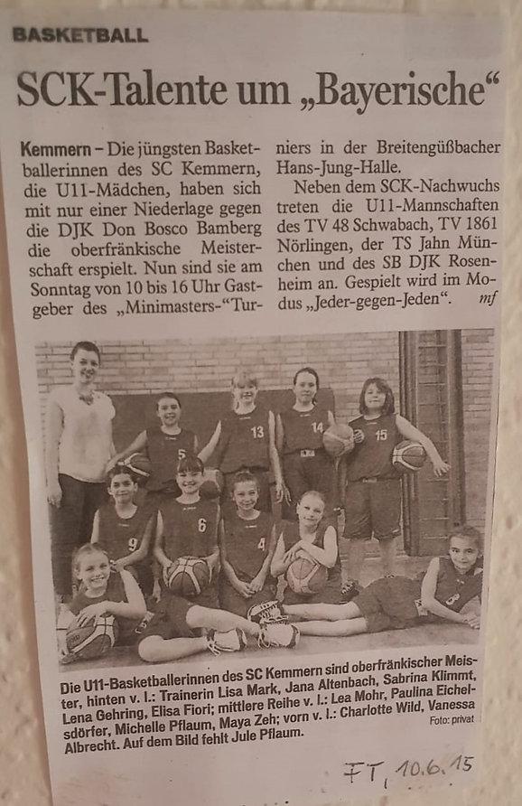 """SCK Talente um """"Bayerische"""""""