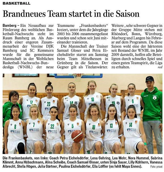Brandneues Team startet in die Saison