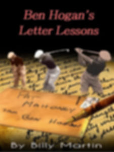 This Is The Cover Of Ben Hogan's Letter Lesons Ebook