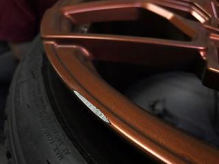 ремонт бордюрки дисков или как убрать цаапины на дисках