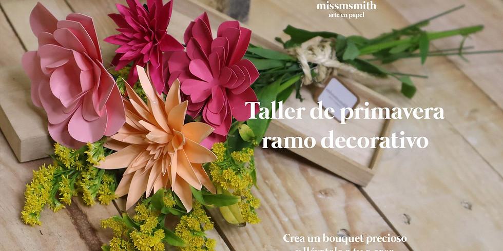 Taller primavera: ramo decorativo