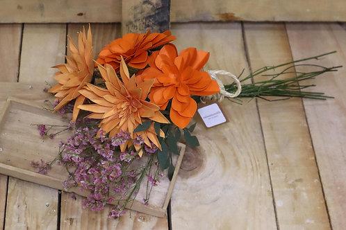 Ramillete de flores de papel  Almería