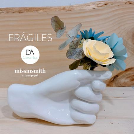 Frágiles - Colección en colaboración con Déborah Abizanda Ceramics