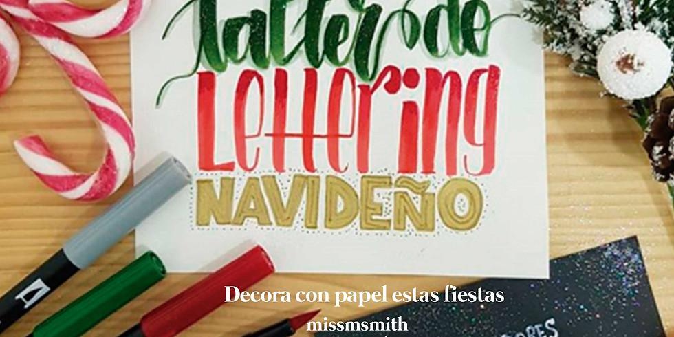 Lettering navideño