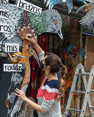 Calle 21 lavapiés Missmsmith artista mad