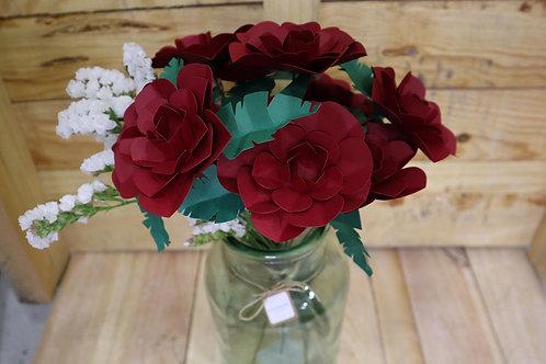 Ramo de 10 rosas rojas