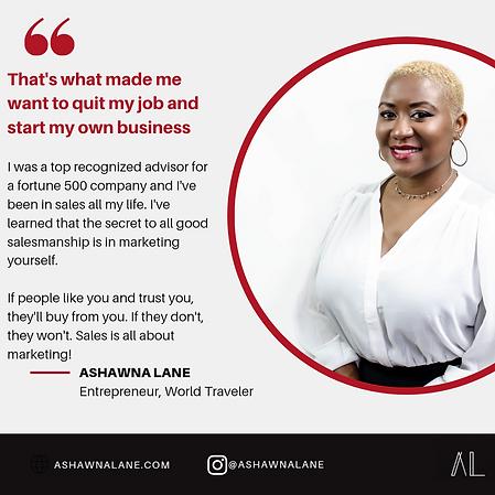 ashawna lane website marketing coach lif