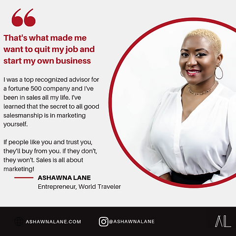 ashawna lane website marketing coach lif