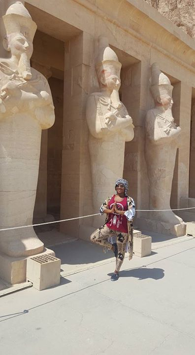Hatshepsut Temple in Luxor, Egypt