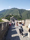 great wall of china beiing ashawna lane asia asian travel blog black woman women grey clothes gray