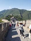 great wall of china beiing ashawna lane asia asian travel blog black woman women grey clothes gray